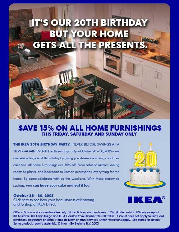 Ikea Kitchen Promotion